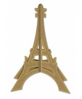Gouden eiffeltoren 3d