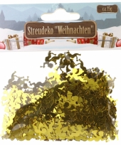 Gouden engeltjes confetti 15 gram