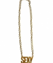 Gouden ketting sexy