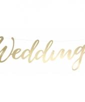 Gouden slinger wedding