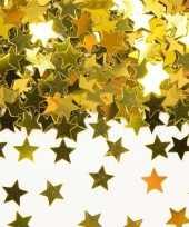 Gouden sterren confetti versiering van 42 gram