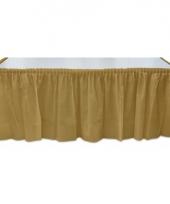 Gouden tafel randen