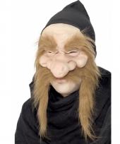 Goudzoeker masker met grote neus