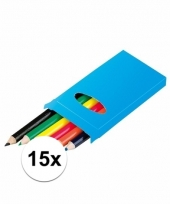 Grabbel kadootjes kleurpotloodjes 15x