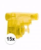 Grabbel kadootjes waterpistooltjes 15x