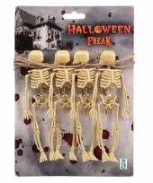 Griezel skelet slinger 150 cm