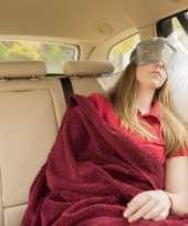 Grijs oogkompres slaapmasker warm koud