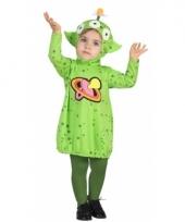 Groen alien pakje voor peuters 10079607