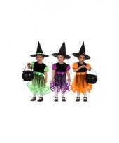 Groen heksen kostuum voor meisjes