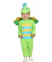 Groene draak kostuum voor kinderen