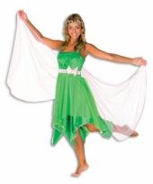 Groene elfen jurk dames