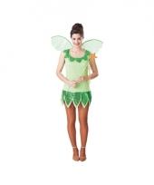 Groene feeen jurk voor dames