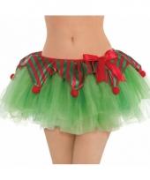 Groene kerst tutu voor vrouwen
