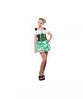 Groene oktoberfest jurken
