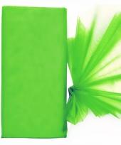 Groene organza stoffen 150 x 300 cm