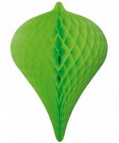 Groene pegel versiering 30 cm
