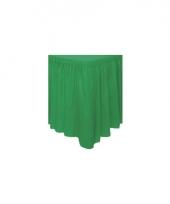 Groene tafel randen