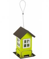 Groene vogelvoerhuis 19cm