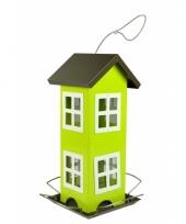 Groene vogelvoerhuis 26cm