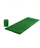 Groene warme slaapzak 185 cm