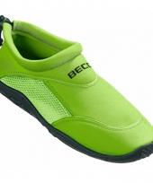 Groene waterschoenen surfschoenen volwassenen
