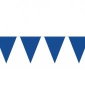 Groot formaat blauwe vlaggenlijnen