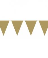 Groot formaat gouden vlaggenlijnen