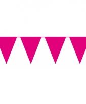 Groot formaat magenta roze vlaggenlijnen