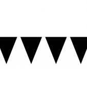 Groot formaat zwarte vlaggenlijnen