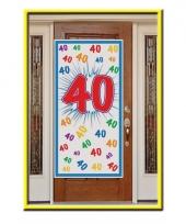 Grote 40 jaar poster 76 x 150 cm