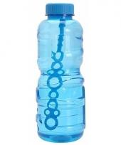 Grote bellenblaas fles blauw 3 liter