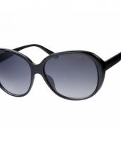 Grote damesbril zwart model 0565