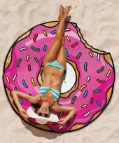 Grote donut strandlaken 150 cm