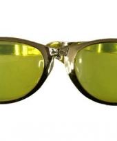 Grote feestbrillen goud