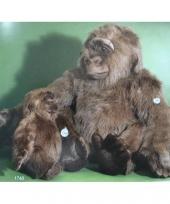 Grote gorilla knuffeldier 80 cm