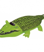 Grote krokodil voor in het water 165 cm