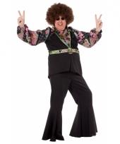 Grote maat hippie shirt voor heren