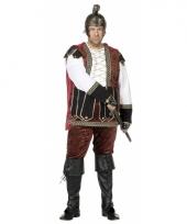 Grote maat middeleeuws kostuum voor heren