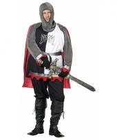 Grote maat middeleeuwse ridder pakken