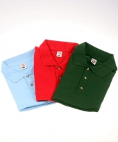 Grote maten polo shirt 3 pack