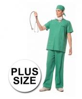 Grote maten verkleedkleding chirurg