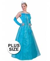 Grote maten verkleedkleding prinsessenset voor volwassenen