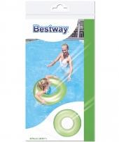 Grote neon zwemband groen 76 cm