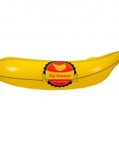 Grote opblaas banaan 70 cm
