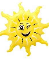 Grote opblaas zon 60 cm