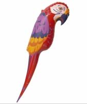 Grote opblaasbare papegaai