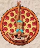 Grote pizza strandlaken 150 cm