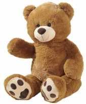 Grote pluche knuffelberen bruin 100 cm