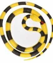 Grote rubberen nep python decoratie slang 137 cm 10140373