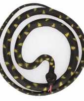 Grote rubberen nep python decoratie slang 137 cm 10140374